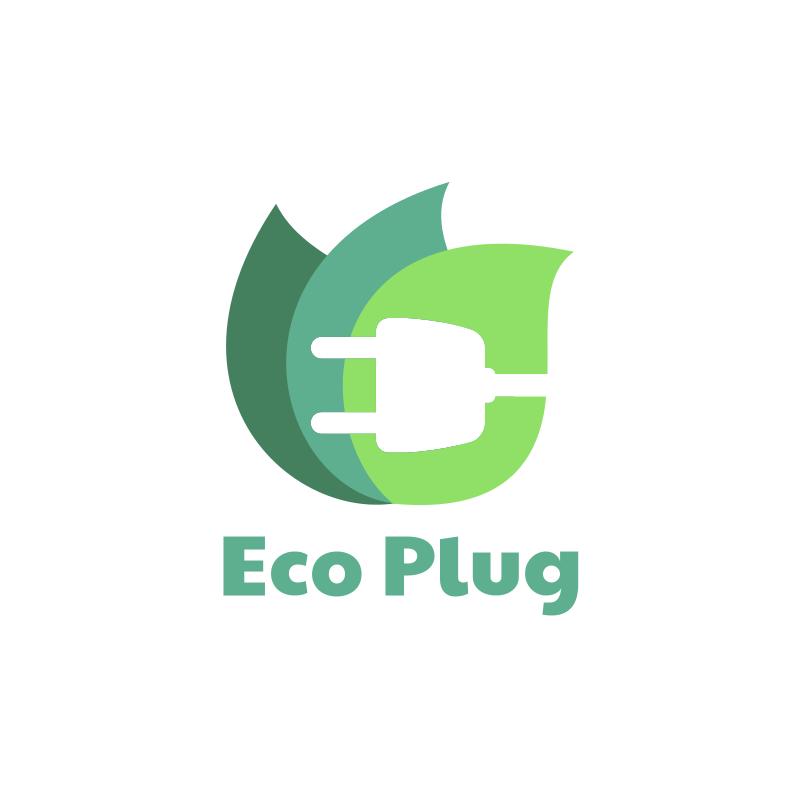 Eco Plug Logo Design