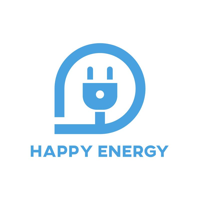 Happy Energy Logo Design