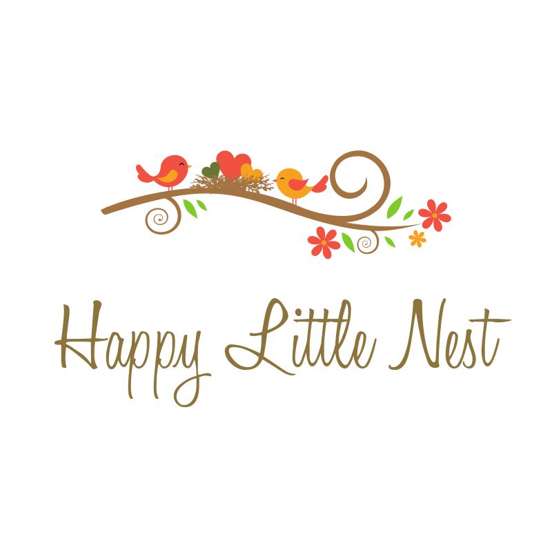 Happy Little Nest Logo Design