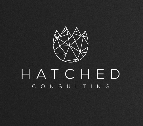 Hatched Consulting Triangle Logo Design by sushsharma99