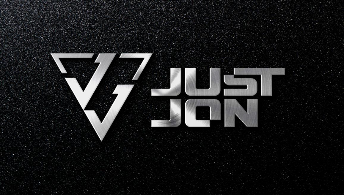 Just Jon DJ Logo Design by PENACT10NS