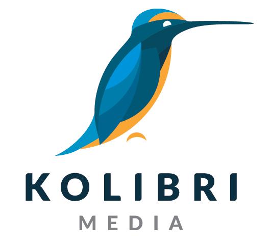 Kolibri Media Logo Design