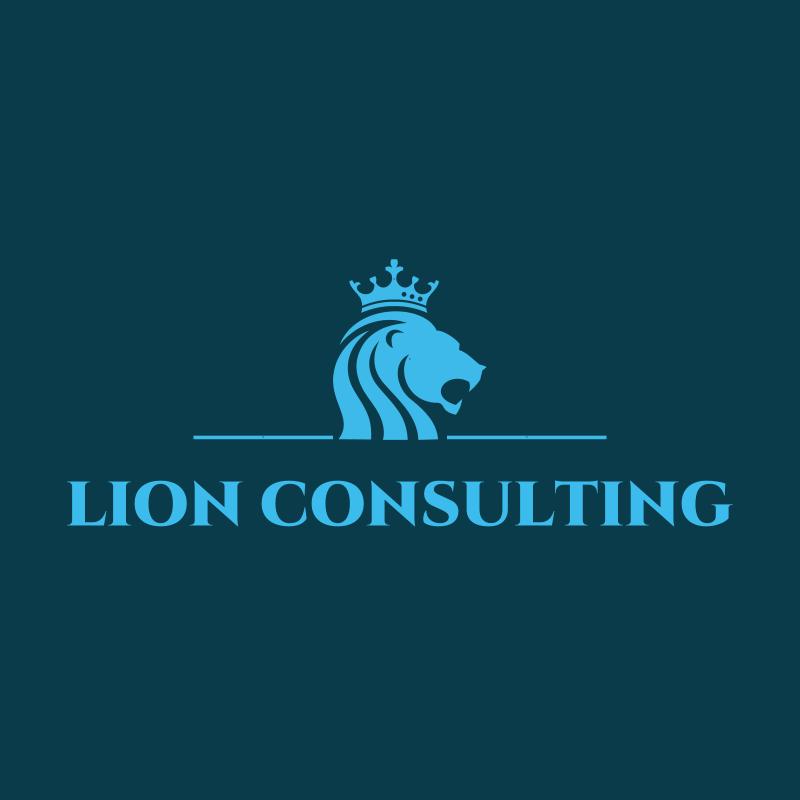 Lion Consulting Logo Design