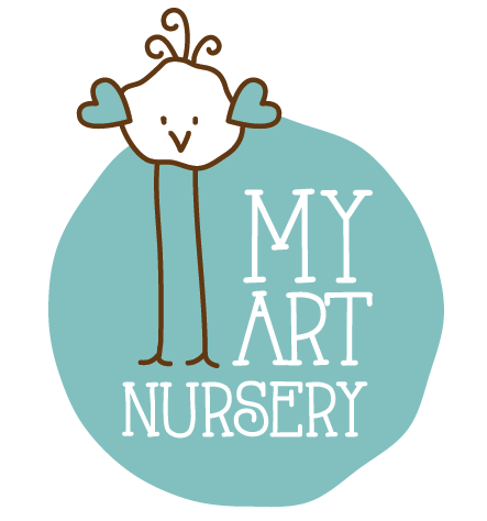 Cute Nursery Bird Logo Design by Charala