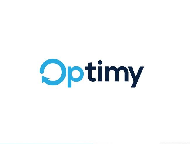 Optimy Round Logo Design