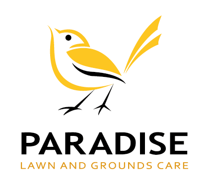 Bird Logo Design by Dennis Jackson for a Lawn and Grounds Care Business