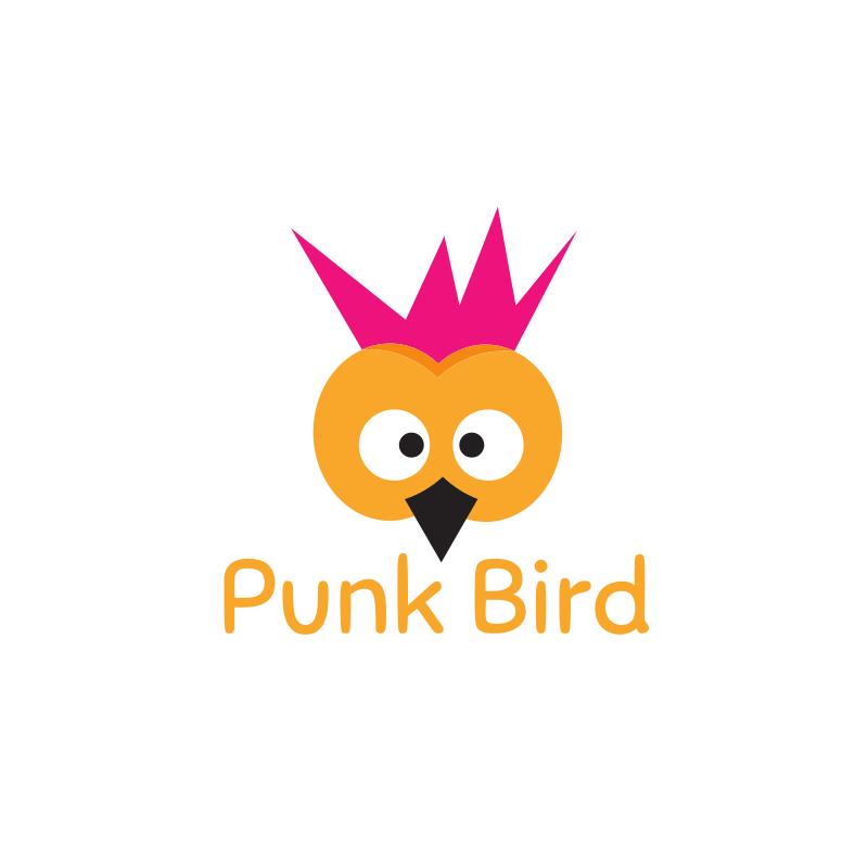 Punk Bird Logo Design