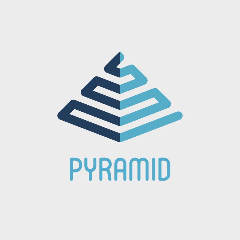 Pyramid Consulting Logo Design