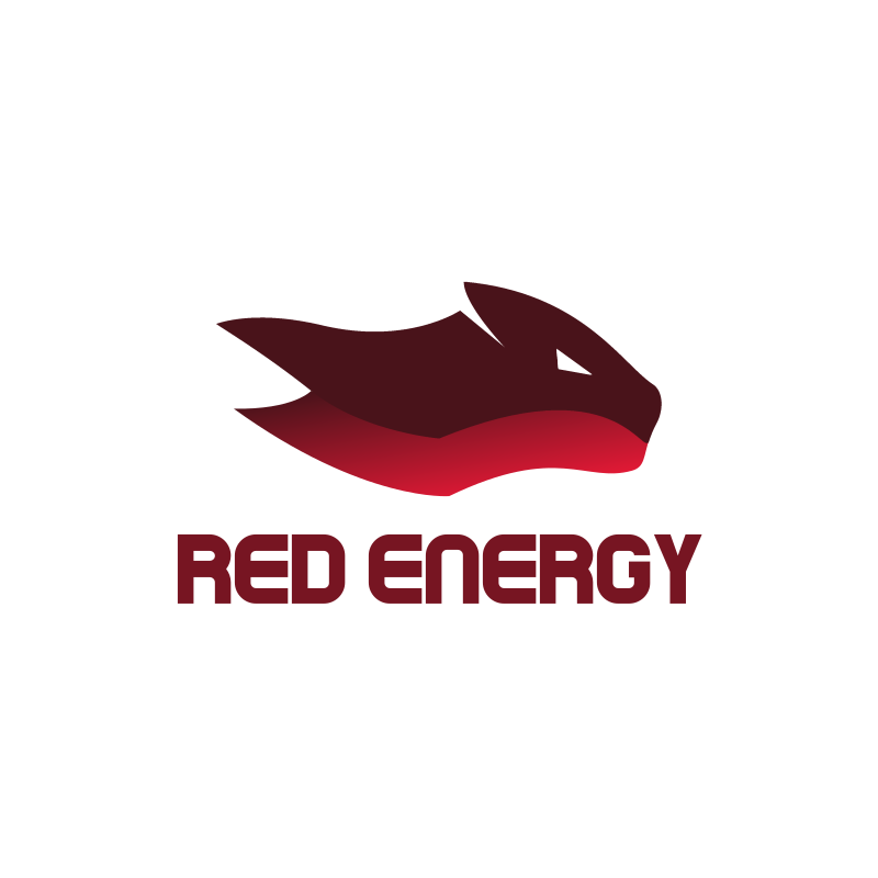 Red Energy Logo Design
