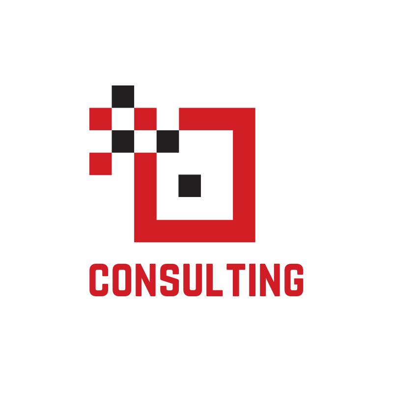 Red Square Consulting Logo Design