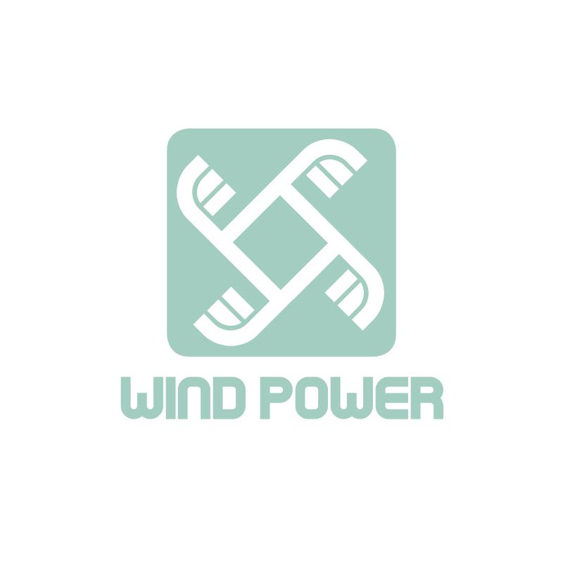 Square Windmill Logo Design