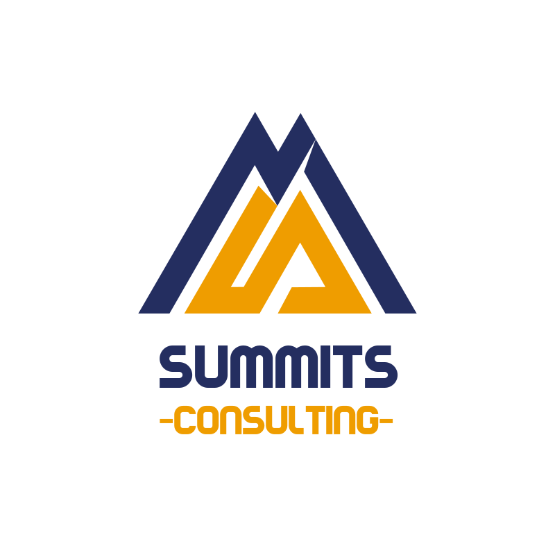 Summits Triangle Consulting Logo Design