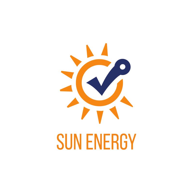 Sun Energy Logo Design