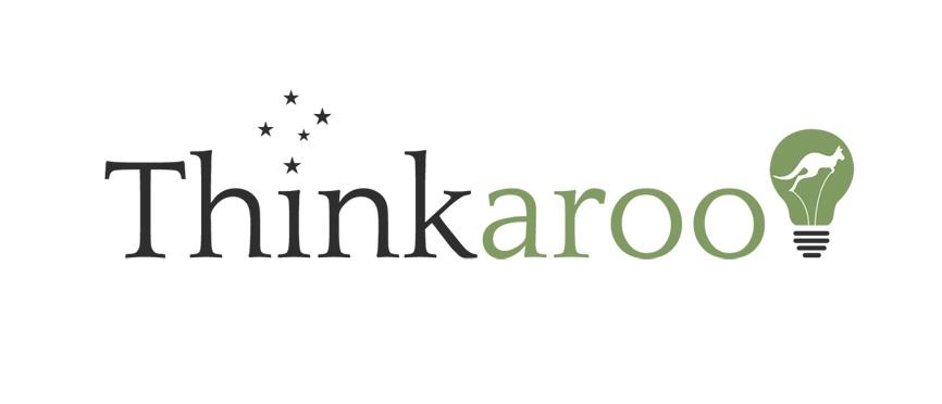 Lightbulb and Kangaroo Logo Design by CanDoDesign