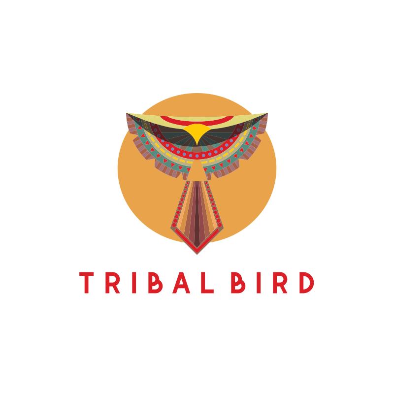 Tribal Bird Logo Design