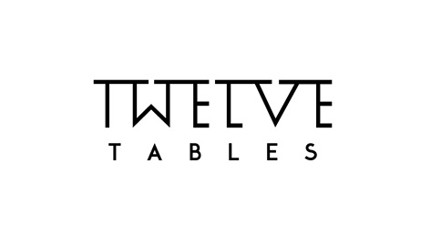 Twelve Tables Logo Design by RBJK515 by The Logo Guy