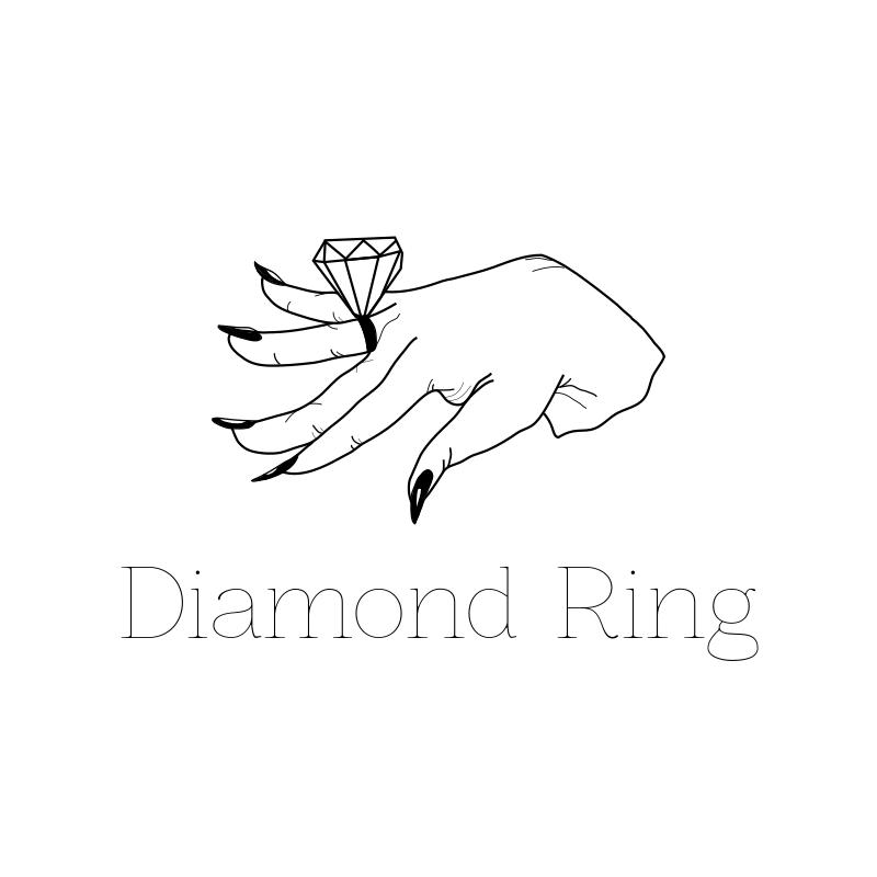 Diamond Ring Logo Design