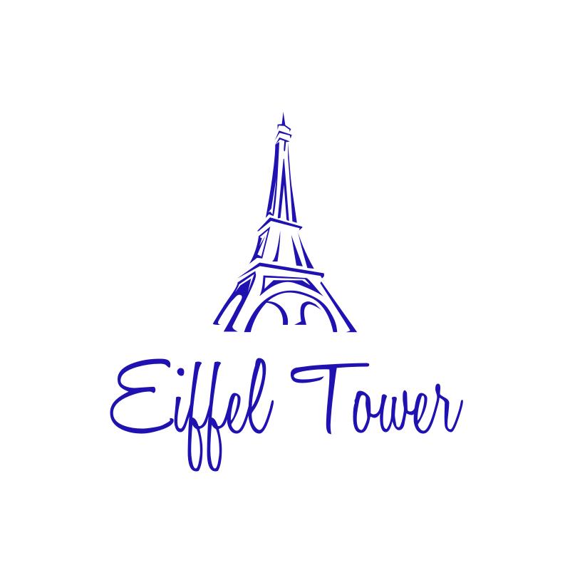 Eiffel Tower Logo Design