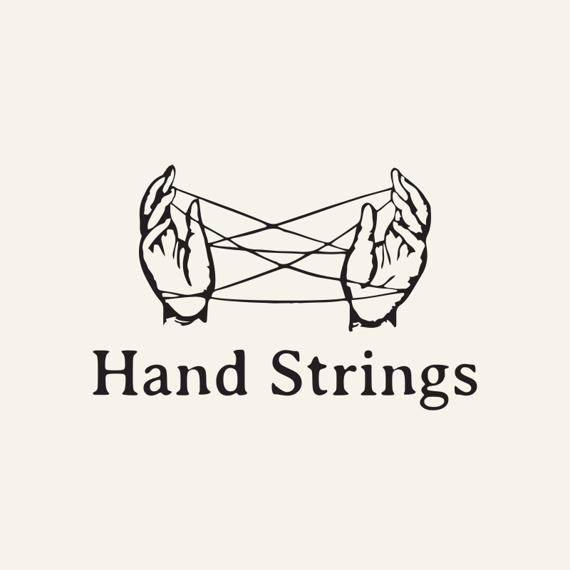 Hand Strings Logo Design