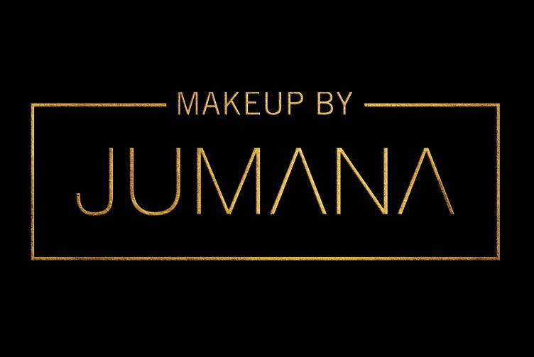 Black and Gold Jumana Logo Design by B8