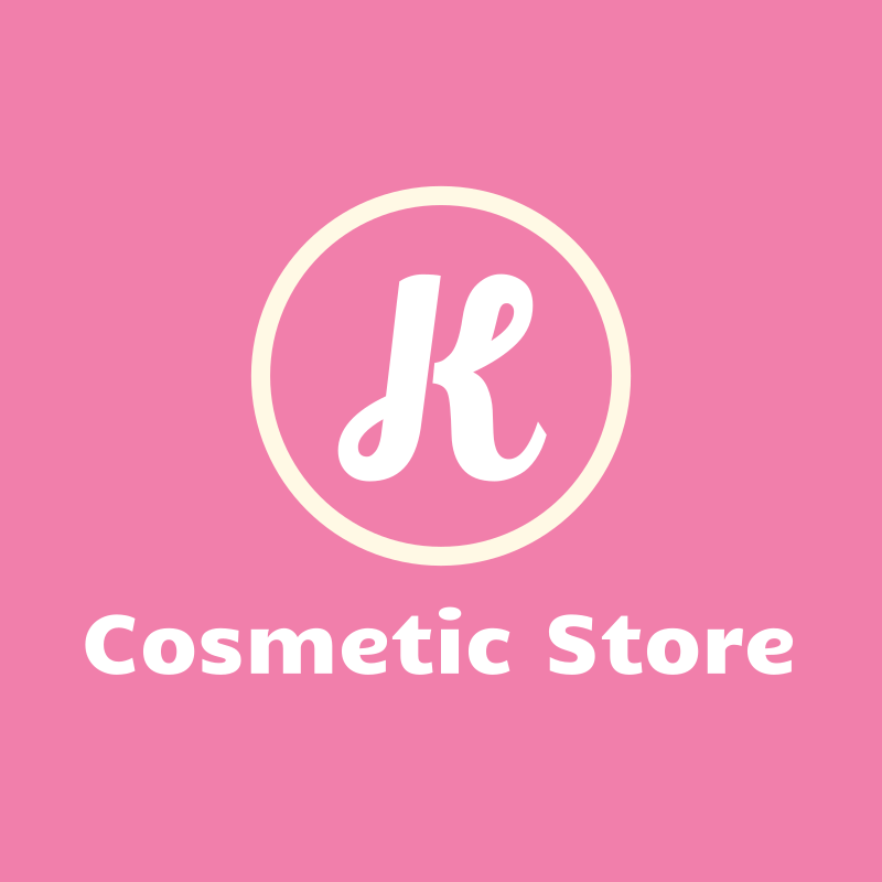 K Cosmetic Store Logo Design