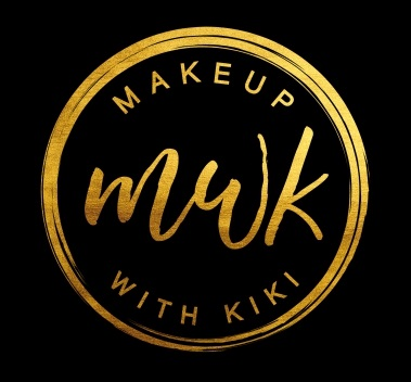 Black and Gold Makeup With Kiki Logo Design by B8