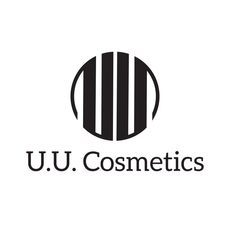 Round U.U Cosmetics Logo Design