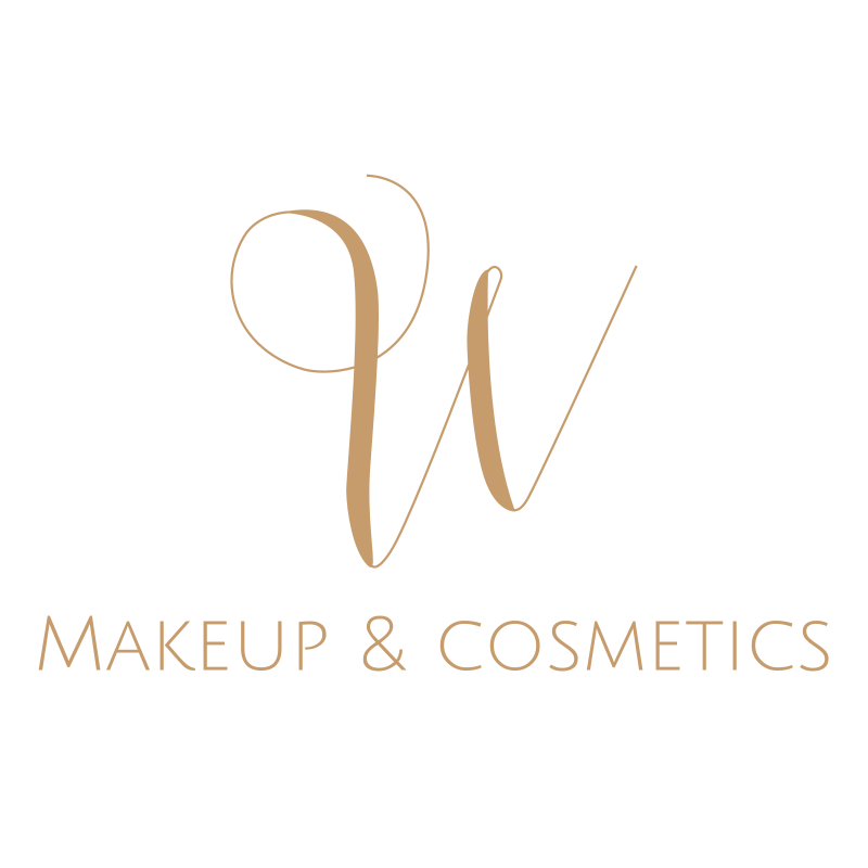 W Makeup & Cosmetics Logo Design